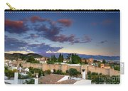 The Alhambra Palace And Albaicin At Sunset Carry-all Pouch