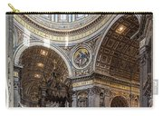 The Altar And Dome In St Peter's Basilica Carry-all Pouch