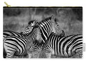 The Amazing Shot Of Zebra Carry-all Pouch