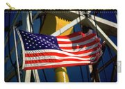 Tribute To The American Flag Oil Industry Carry-all Pouch