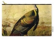 The American Wild Turkey Cock Carry-all Pouch
