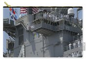 The Amphibious Assault Ship Uss Boxer Carry-all Pouch by Stocktrek Images