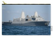 The Amphibious Transport Dock Ship Uss Carry-all Pouch