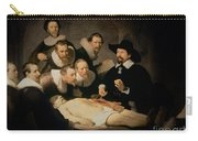 The Anatomy Lesson Of Doctor Nicolaes Tulp Carry-all Pouch