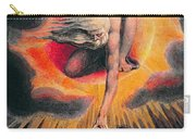 The Ancient Of Days Carry-all Pouch by William Blake