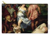 The Andrians Carry-all Pouch by Titian