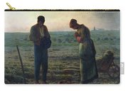 The Angelus Carry-all Pouch by Jean-Francois Millet