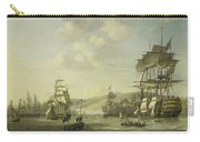 The Anglo Dutch Fleet In The Bay Of Algier Carry-all Pouch