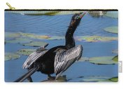 The Bird, Anhinga Carry-all Pouch by Cindy Lark Hartman