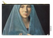 The Annunciation Carry-all Pouch by Antonello da Messina
