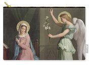 The Annunciation Carry-all Pouch by Auguste Pichon