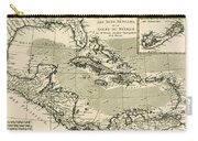 The Antilles And The Gulf Of Mexico Carry-all Pouch by Guillaume Raynal