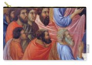 The Apostles Of Maria Fragment 1311 Carry-all Pouch