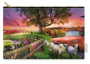 The Appalachian Farm Life In Beautiful Morning Light Carry-all Pouch