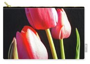 The Appearance Of Spring - Tulips Carry-all Pouch