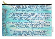 The Aquarian Philosophy Carry-all Pouch