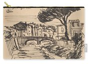 The Arno In The Evening, Florence Carry-all Pouch
