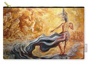 The Arrival Of The Goddess Of Consciousness Carry-all Pouch