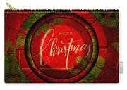 The Art Of Vhristmas Cheer Carry-all Pouch