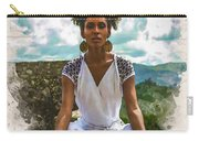 The Art Of Yoga Carry-all Pouch