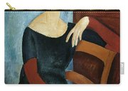 The Artist's Wife Carry-all Pouch by Amedeo Modigliani