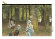 The Artist's Wife And Daughters In A Park At Heringsdorf Carry-all Pouch