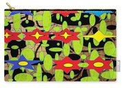 The Arts Of Textile Designs #42 Carry-all Pouch