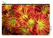 Chrysanthemum Bouquet Carry-all Pouch