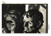The Assassination Of Abraham Lincoln Carry-all Pouch by English School