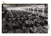 The Assembly Plant Of The Bell Aircraft Corporation In 1944 Carry-all Pouch