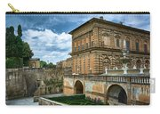 The Back Of The Pitti Palace In Florence Carry-all Pouch