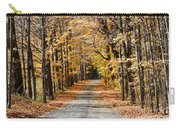 The Back Road In Autumn Carry-all Pouch