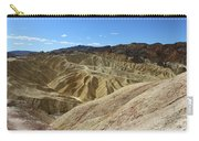 The Badlands Of Death Valley Carry-all Pouch