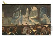 The Ballet Scene From Meyerbeer's Opera Robert Le Diable Carry-all Pouch by Edgar Degas
