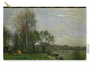 The Banks Of The Oise Carry-all Pouch