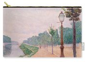 The Banks Of The Seine At Neuilly 1886 Carry-all Pouch