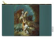 The Baptism Of The Eunuch After Rembrandt Harmenszoon Van Rijn Carry-all Pouch