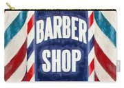The Barber Shop Carry-all Pouch