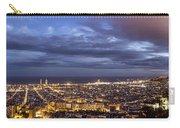 The Barcelona City Skyline, Spain Carry-all Pouch
