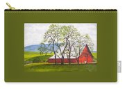 The Barn, 11x14, Oil, '07 Carry-all Pouch