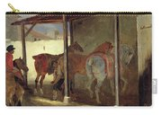 The Barn Of Marechal-ferrant Carry-all Pouch