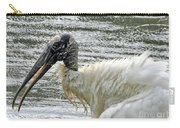 The Bathing Wood Stork 2 Carry-all Pouch