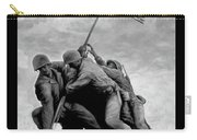 The Battle For Iwo Jima By Todd Krasovetz Carry-all Pouch