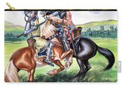 The Battle Of Bannockburn Carry-all Pouch