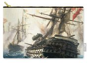 The Battle Of Lissa Carry-all Pouch by Constantin Volonakis