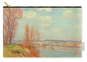The Bay And The River Carry-all Pouch by Jean Baptiste Armand Guillaumin