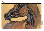 The Bay Arabian Horse 10 Carry-all Pouch
