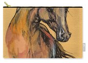 The Bay Arabian Horse 9 Carry-all Pouch