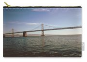 The Bay Bridge- By Linda Woods Carry-all Pouch