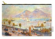 The Bay Of Naples With Vesuvius In The Background Carry-all Pouch